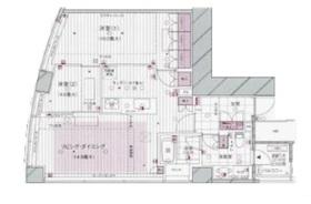 マジェスタワー六本木21階Fの間取り画像