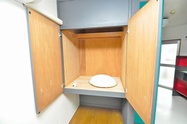 新星ビル上小阪 もちろん収納スペースも確保。いたれりつくせりのお部屋です。