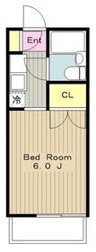 下飯田駅 車10分3.0キロ1階Fの間取り画像