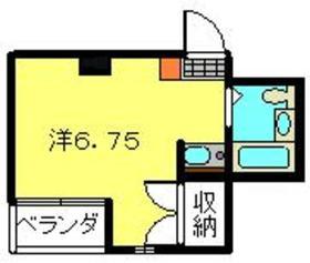 石川町駅 徒歩12分4階Fの間取り画像