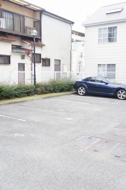 駐車場!!