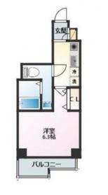 リヴシティ横濱浅間台2階Fの間取り画像