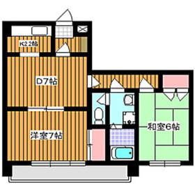 東武練馬駅 徒歩7分1階Fの間取り画像