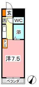 フォーバス I1階Fの間取り画像