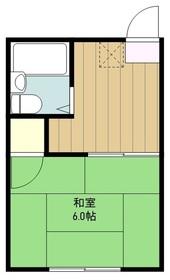 メイゾン海野2階Fの間取り画像