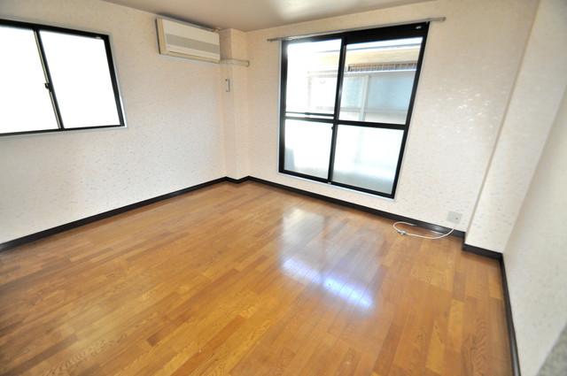 CTビュー八戸ノ里 外観との良いギャップが部屋の良さを引き立てています。