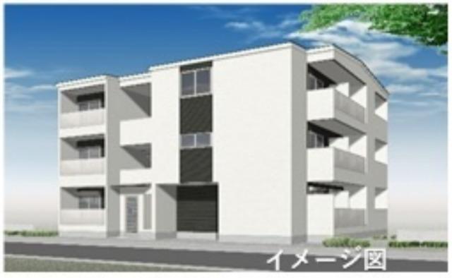 大阪市東住吉区矢田3丁目の賃貸アパートの外観