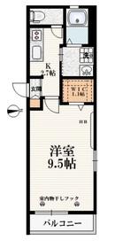 エルフメゾン2階Fの間取り画像