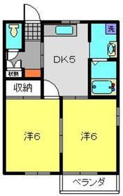 コート・ドゥ・ベール壱番館1階Fの間取り画像