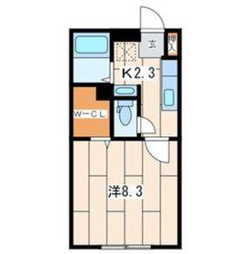 パパメゾン1階Fの間取り画像