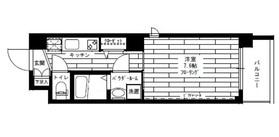ステージグランデ江古田2階Fの間取り画像