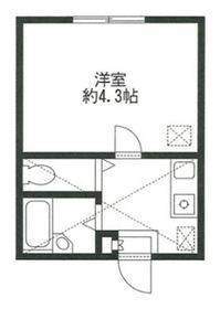 リーヴェルポート横浜鶴ヶ峰1階Fの間取り画像