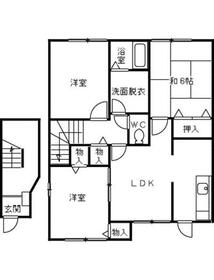 津久井浜駅 徒歩3分2階Fの間取り画像