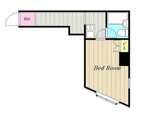 ルリ橋本2階Fの間取り画像