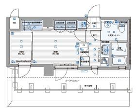 パティーナ川崎南6階Fの間取り画像