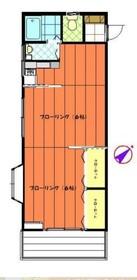 シャトーグロリア1階Fの間取り画像