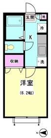 パピヨン南大井 113号室