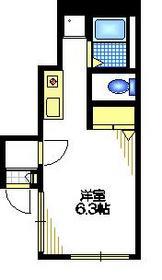 ツインスペース1階Fの間取り画像