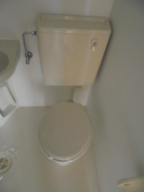 森アパートトイレ