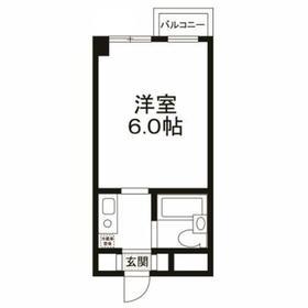 上野毛駅 徒歩21分2階Fの間取り画像