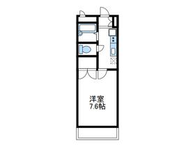 門沢橋駅 徒歩12分3階Fの間取り画像