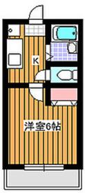 地下鉄成増駅 徒歩14分1階Fの間取り画像