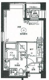 アランシア鶴見7階Fの間取り画像