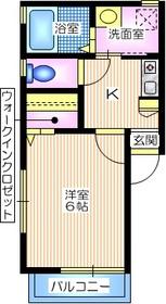パークサイドダイスA1階Fの間取り画像