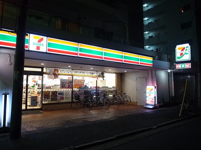 レオパレス布施  セブンイレブン東大阪足代新町店