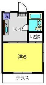 東山田駅 徒歩17分1階Fの間取り画像