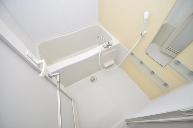 グランスイート ゆったりサイズのお風呂は落ちつける癒しの空間です。