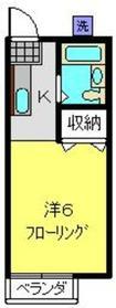 菊名駅 徒歩13分2階Fの間取り画像