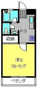 星川駅 徒歩10分1階Fの間取り画像