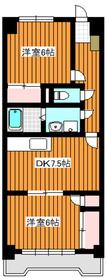 東武練馬駅 徒歩13分2階Fの間取り画像