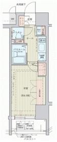エステムプラザ横濱元町山手11階Fの間取り画像