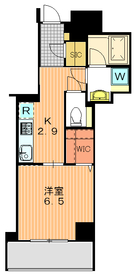 アトラス駒沢大学11階Fの間取り画像