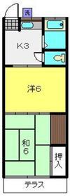 武蔵小杉駅 徒歩30分1階Fの間取り画像
