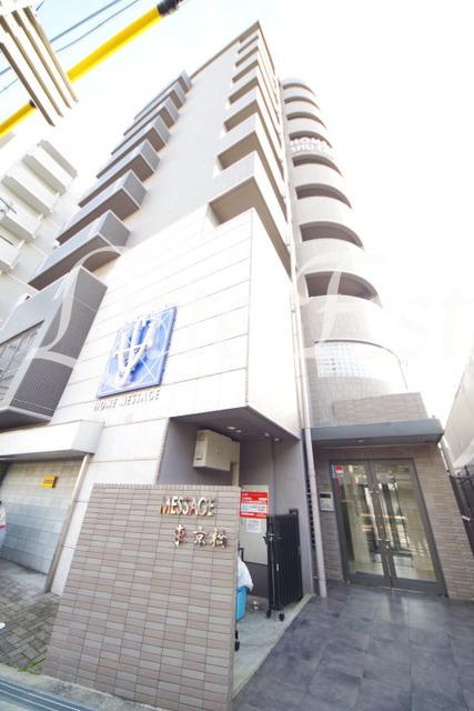 大阪市城東区蒲生1丁目の賃貸マンションの外観