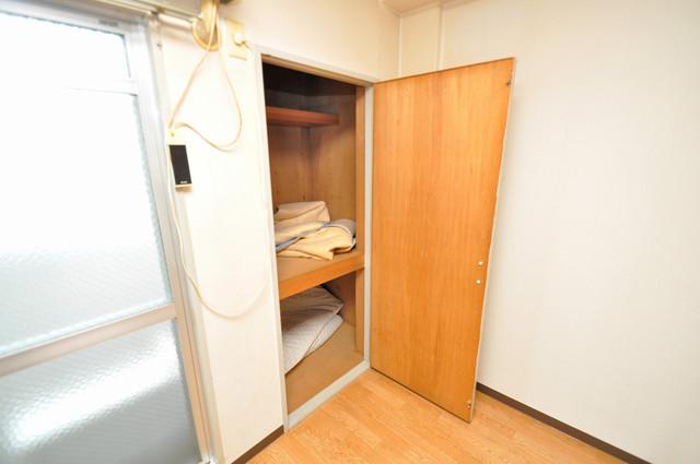 エホールⅢ もちろん収納スペースも確保。いたれりつくせりのお部屋です。