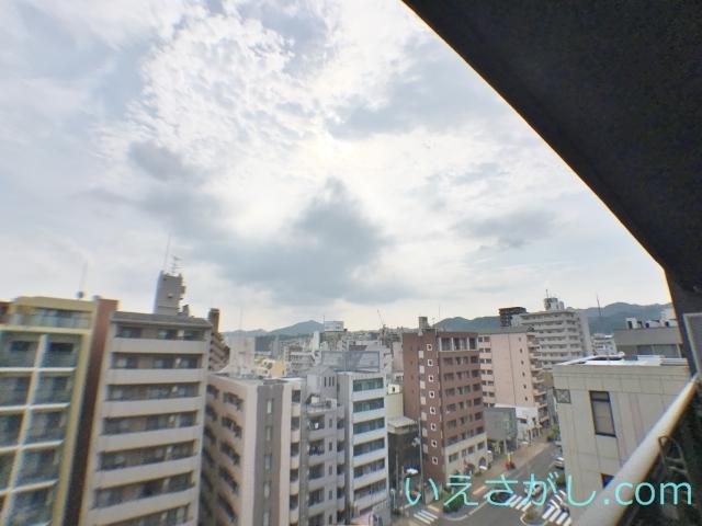9階の眺望です。11階はさらに上。