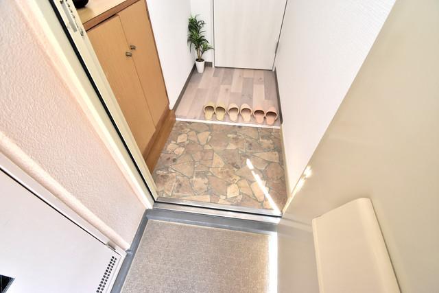 マーキュリーハイム飛田 素敵な玄関は毎朝あなたを元気に送りだしてくれますよ。