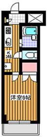 プロシカン1階Fの間取り画像