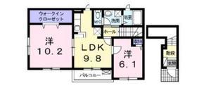 オランジュボヌール2階Fの間取り画像
