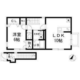 上板橋駅 徒歩9分2階Fの間取り画像