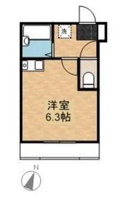 三ッ沢下町駅 徒歩9分1階Fの間取り画像
