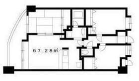 K&Aビル(ケーアンドエービル)4階Fの間取り画像