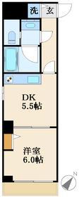 仮称)下谷3丁目マンション5階Fの間取り画像