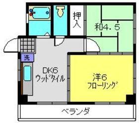 新丸子駅 徒歩14分3階Fの間取り画像