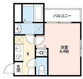 ドイール登戸2階Fの間取り画像