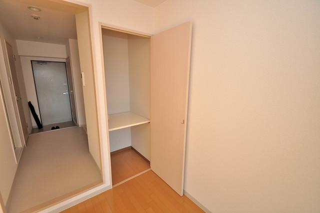 八戸ノ里HIROビル もちろん収納スペースも確保。いたれりつくせりのお部屋です。